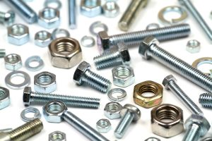 photo of various bolts, nuts and washers