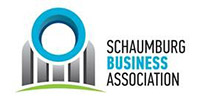 logo for schaumburg business association