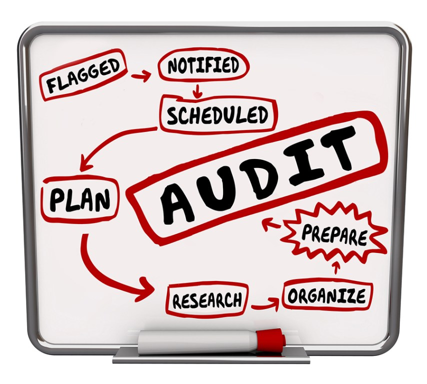diagram of needed audit process