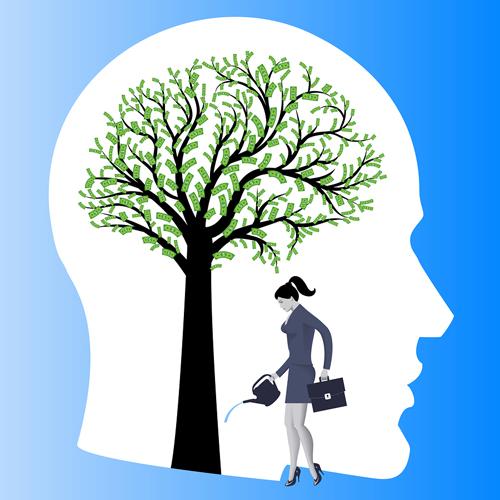 conceptual photo of mentoring